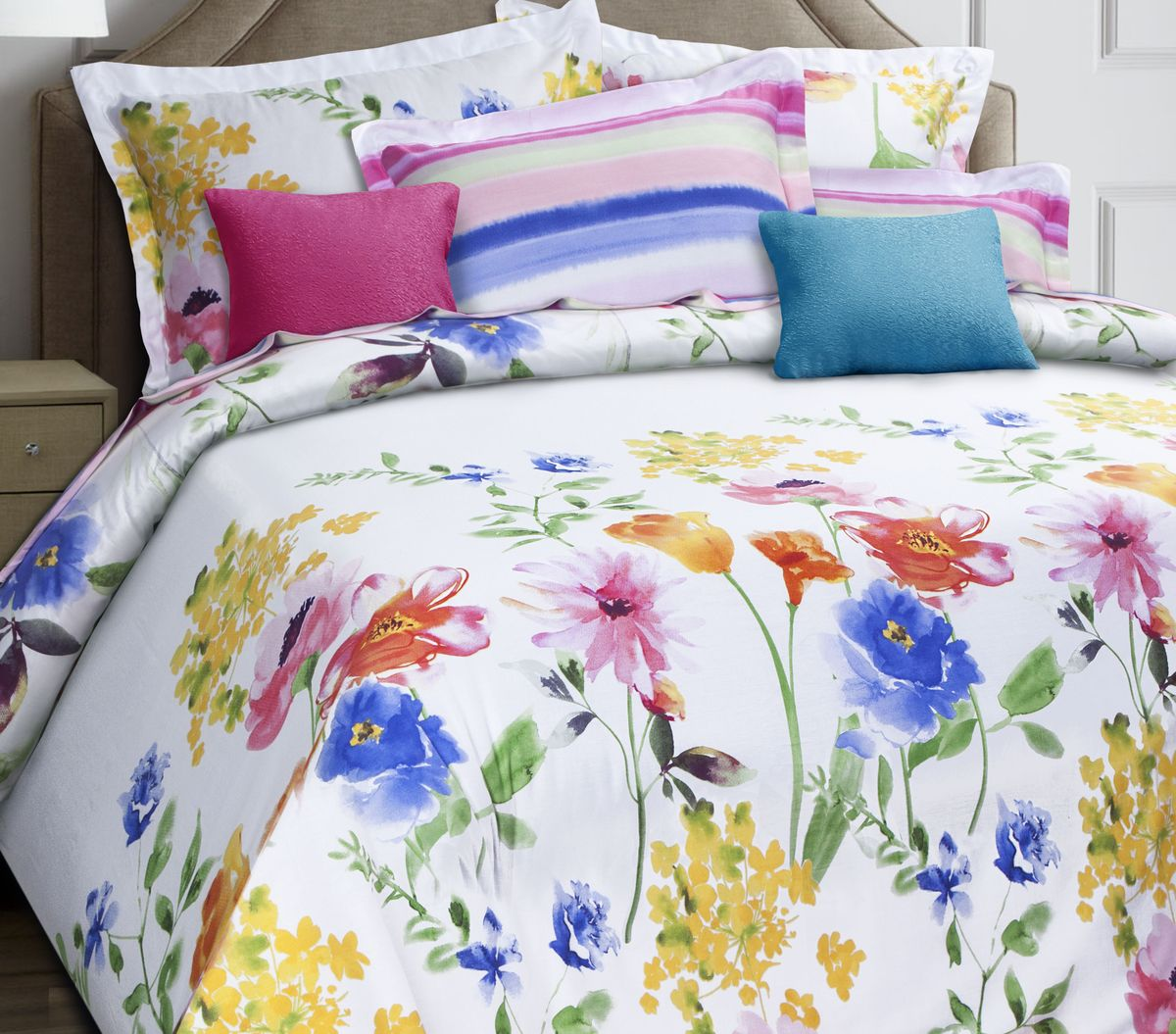 Комплект белья Mona Liza Premium. Gloria, 1,5-спальный, наволочки 70х70 подушка mona liza premium наполнитель льняное волокно цвет белый 70 х 70 см