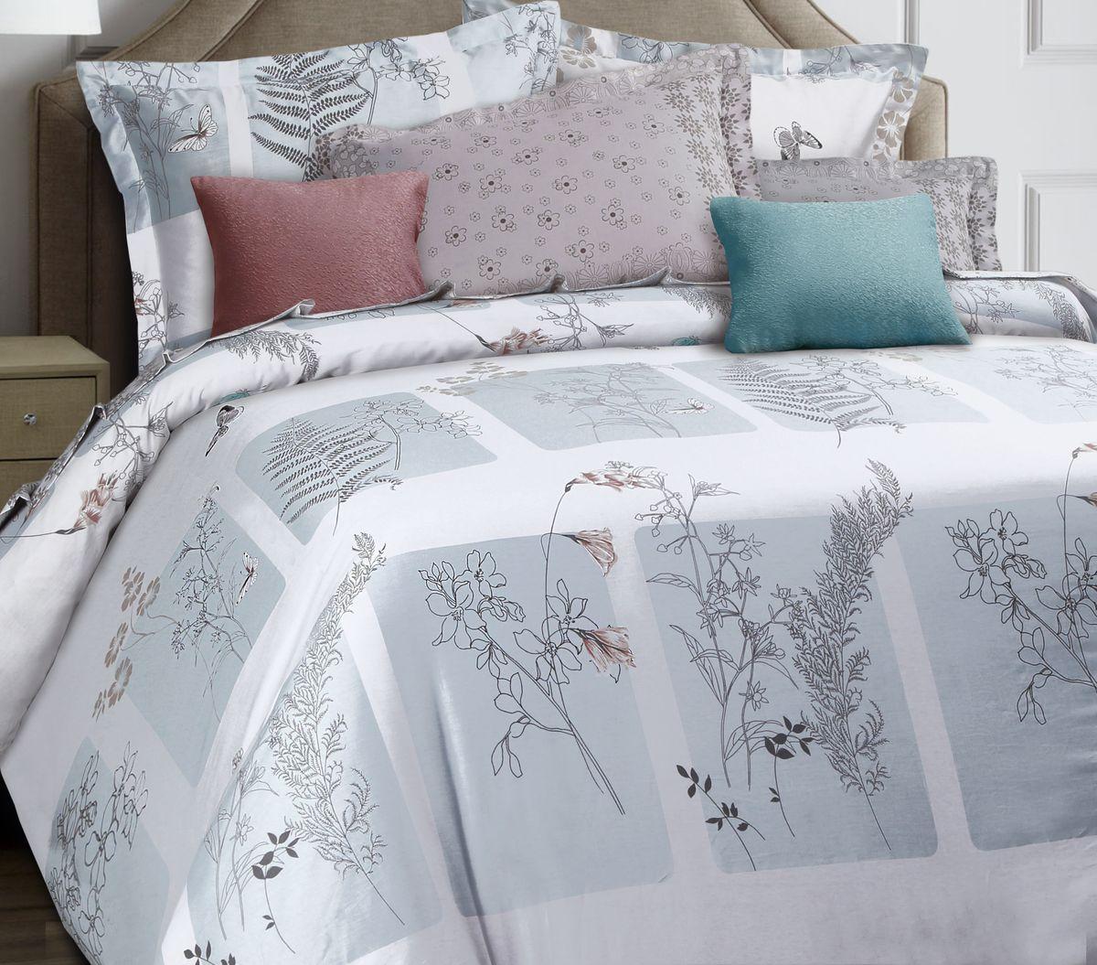Комплект белья Mona Liza Premium. Stile, 1.5-спальный, наволочки 70х705047/017Комплект постельного белья Mona Liza выполнен из сатина (100% хлопок), состоит из пододеяльника, простыни и двух наволочек. Изделия оформлены цветочным принтом и декоративной отделкой.Такой изящный комплект, упакованный в чемоданчик, подойдет для любого стилевого и цветового решения интерьера, а также создаст в доме уют.