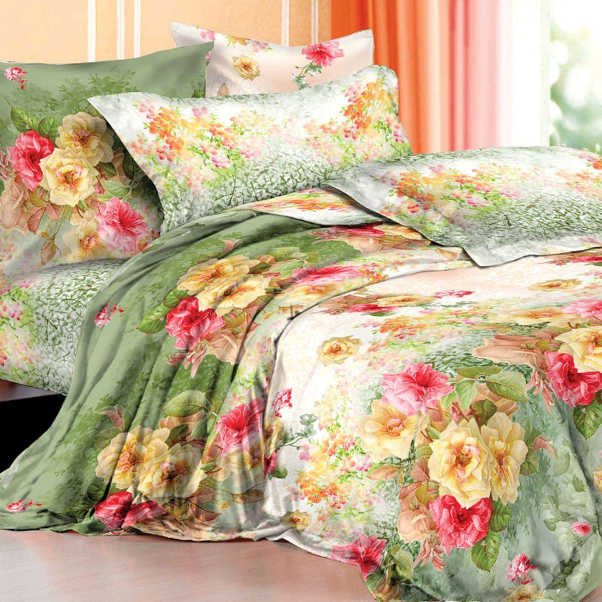 Комплект белья Mona Liza Premium. Armide, 1.5-спальный, наволочки 70х705047/10Комплект постельного белья Mona Liza выполнен из сатина (100% хлопок), состоит из пододеяльника, простыни и двух наволочек. Изделия оформлены цветочным принтом и декоративной отделкой. Такой изящный комплект, упакованный в чемоданчик, подойдет для любого стилевого и цветового решения интерьера, а также создаст в доме уют.Советы по выбору постельного белья от блогера Ирины Соковых. Статья OZON Гид