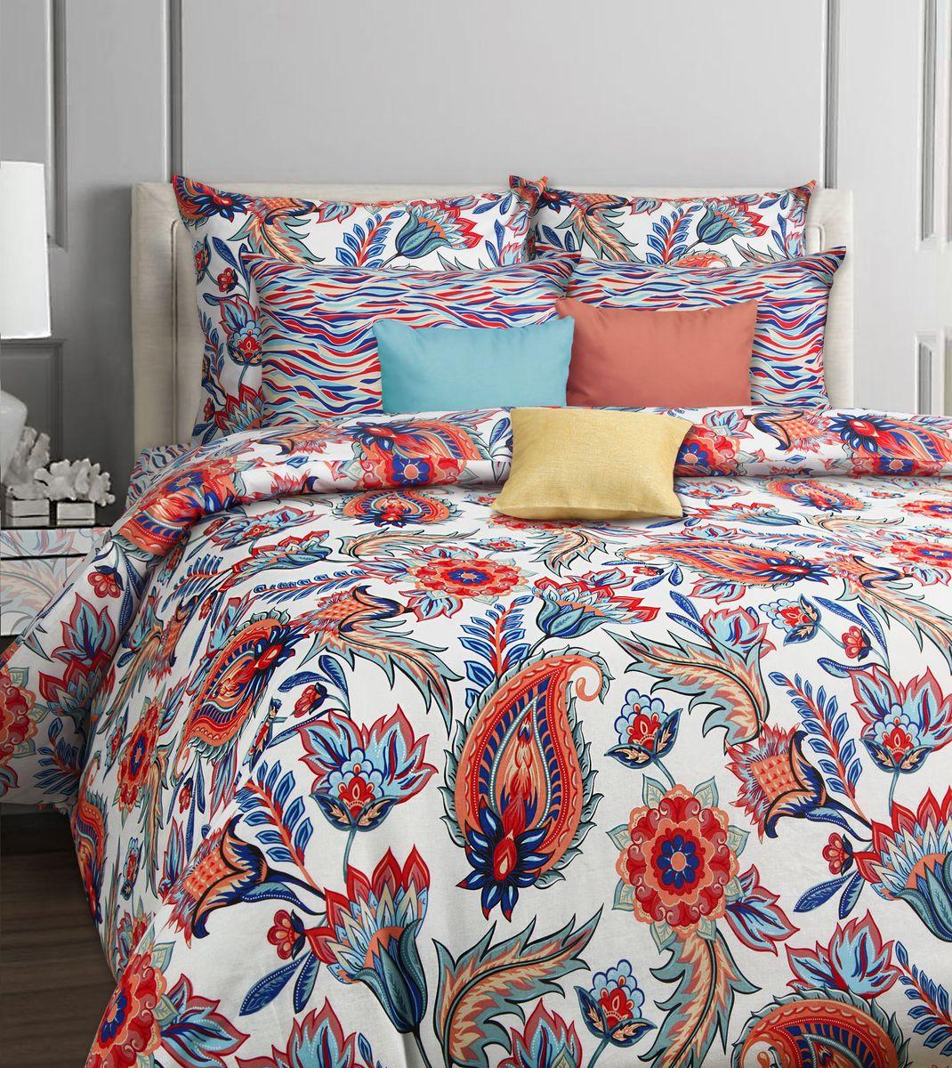 Комплект постельного белья Mona Liza Classik. Leila, 2-спальный, наволочки 50х70552205/45Комплект белья Mona Liza, выполненный из бязи, состоит из пододеяльника, простыни и двух наволочек. Изделия оформлены ярким рисунком. Такой комплект постельного белья станет отличным подарком для родных и близких.