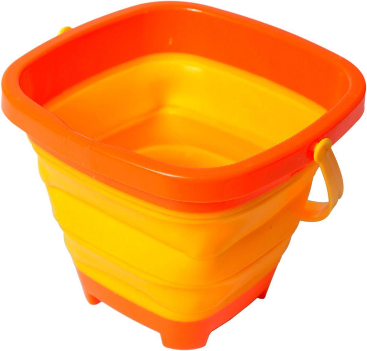 Fresh Trend Игрушка для песочницы Ведро складное цвет желтый fresh trend складное ведро