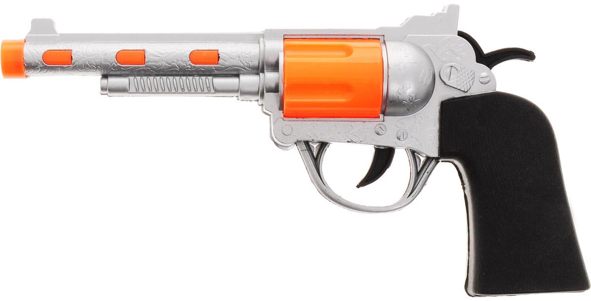 Играем вместе Револьвер цвет серебристый в москве травматический револьвер таурус