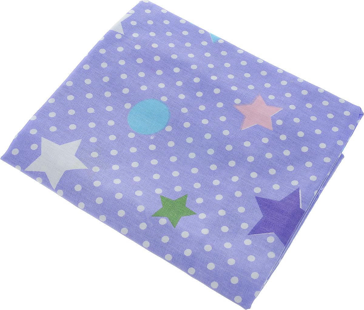 Bonne Fee Простыня детская Совы цвет фиолетовый 70 х 120 смОПРС-70х120 фиолДетская простыня Bonne Fee Совы обязательно подойдет для кроватки вашего малыша.Изготовленная из натурального 100% хлопка, она необычайно мягкая и приятная на ощупь. Натуральный материал не раздражает даже самую нежную и чувствительную кожу ребенка, обеспечивая ему наибольший комфорт. Приятный рисунок простыни понравится малышу и привлечет его внимание.На такой простыне ваша кроха будет спать здоровым и крепким сном.Уход: ручная или машинная стирка в воде до 40°С, при стирке не использовать средства, содержащие отбеливатели, гладить при температуре до 150°С, химическая чистка не допустима, бережный режим электрической сушки.