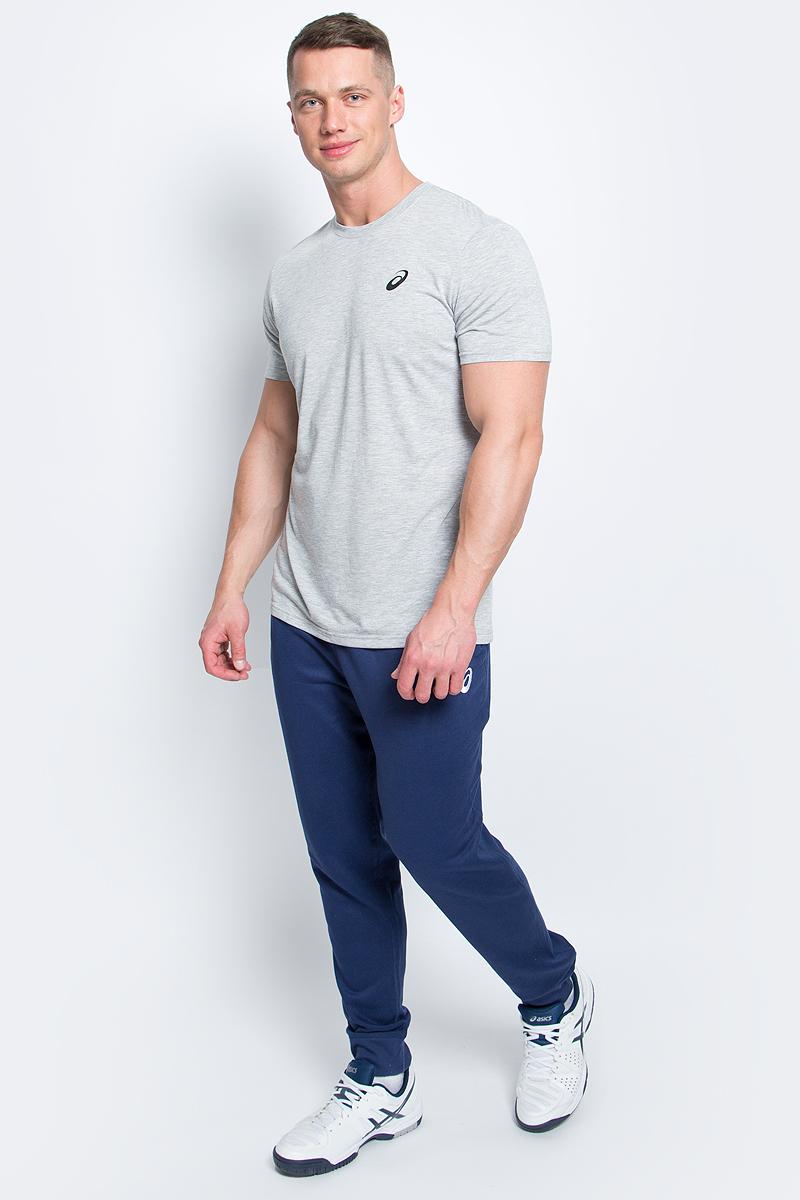 Футболка мужская Asics Spiral Top, цвет: серый. 141099-0714. Размер M (48/50) футболка asics футболка styled top