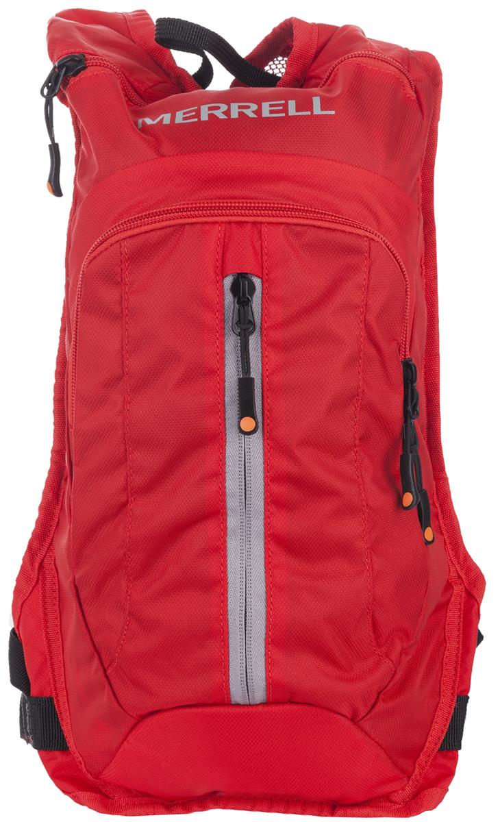 Рюкзак для походов Merrell Luton 2.0, цвет: красный. JBF23628JBF23628Рюкзак для походов Merrell Luton 2.0 выполнен из нейлона. У модели камера для отделения с жидкостью, рубка для отделения с жидкость и выводом на спинке, два отделения на молнии, карман на молнии. Идет в комплекте с пластиковым пакетом для жидкости.