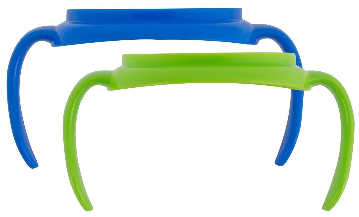 Dr.Brown's Набор ручек для поильников цвет синий зеленый 2 шт цены онлайн