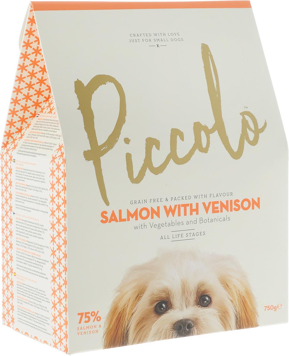 Корм сухой Piccolo GF, для собак мелких пород, с лососем и олениной, 750 г100.304Сухой корм Piccolo GF для каждодневного питания взрослых собак мелких и карликовых пород (от двух месяцев). Содержание лосося и оленины обеспечивают более высокий уровень протеина, который требуется вашей маленькой собаке. Piccolo содержит большое количество мяса и рыбы, удовлетворяя изысканные потребности в еде вашего малыша. Состав: свежее бескостное филе Шотландского лосося (50%), мука из мяса Шотландского лосося (13%), свежее бескостное мясо оленины (12%), батат, картофель, дегидратированное яйцо (2%), горох, люцерна, лососёвый бульон (1%),минералы, витамины, яблоко, морковь, семена подорожника, водоросли, фруктоолигосахариды, шпинат, клюква, ромашка, мята, календула, семена аниса и пажитника. Анализ состава: сырой протеин 32,5%, жиры 19%, сырая клетчатка 2,5%, сырая зола 10,5%, влажность 8%, омега 6 2,2%, омега 3 3,7%, кальций 2,3%, фосфор 1,6%. Питательные добавки (на кг): витамин А 16 250 МЕ, витамин D3 2 400 МЕ, моногидрат сульфата железа 641 мг, моногидрат сульфата цинка 577 мг, моногидрат сульфата марганца 141 мг, пентагидрат сульфата меди 46 мг, безводный йодат кальция 3,1 мг, селенит натрия 0,53 мг.