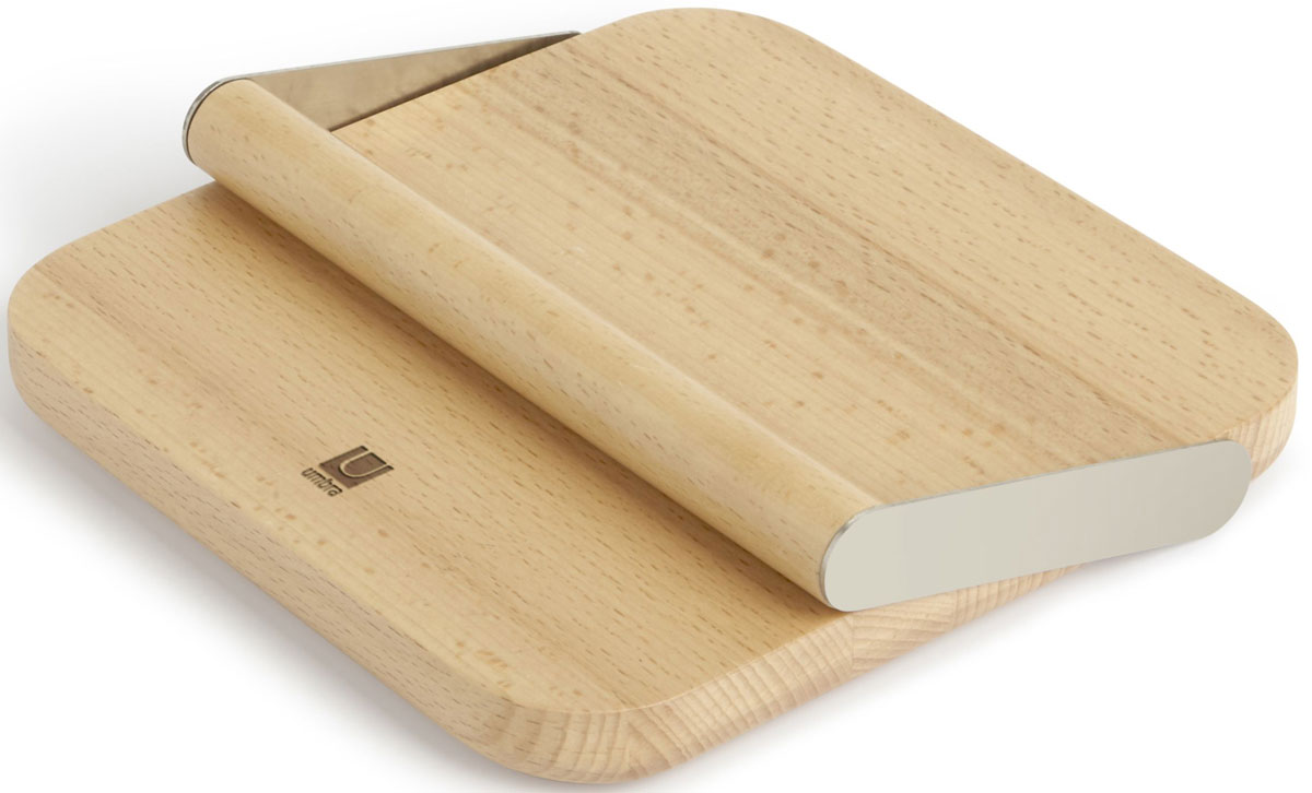 Держатель для салфеток Umbra Pila, цвет: никель, 4 х 18,7 х 18,8 см330716-392Держатель для салфеток Umbra Pila станет незаменимым аксессуаром на вашей кухне, если вы любите нестандартное исполнение обыденных вещиц. Держатель изготовлен из матированного металла, рукоять - из натурального бука. Такой держатель для салфеток прекрасно впишется в сервировку любого стола. Размеры:4 х 18,7 х 18,8 см