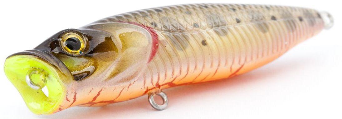 Воблер плавающий Atemi Crazy Pop, цвет: trout, длина 8 см, вес 16 г какую леску для ловли сороги зимой