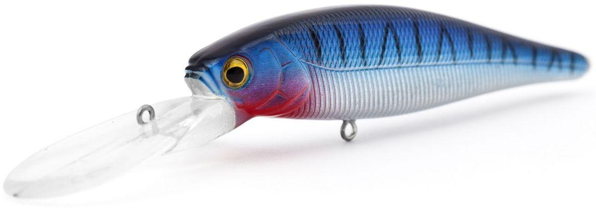 Воблер плавающий Atemi Quesy, цвет: mackerel, длина 10 см, вес 16,5 г, заглубление 2 м