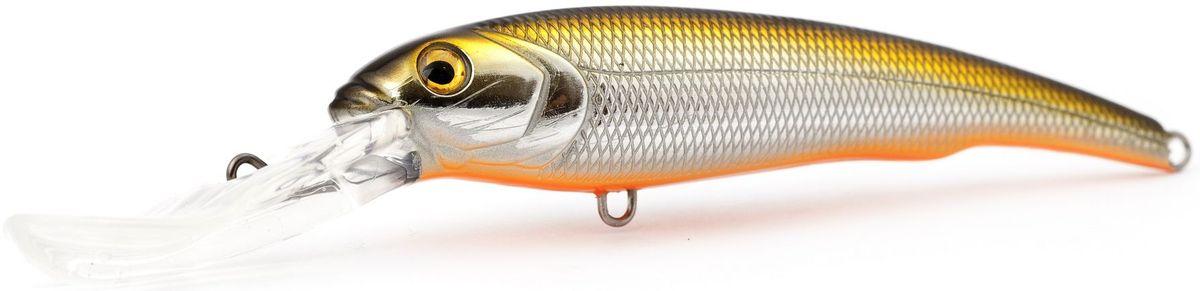 Воблер плавающий Atemi Predator Special, цвет: gold shad, длина 15 см, вес 47 г, заглубление 9 м513-00062Плавающий воблер Atemi Predator Special специально создан для ловли хищных рыб в весенне-летний период. Идеально подходит в качестве приманки для щуки и сома, для ловли которых необходимо брать наживку большого размера примерно от 12 см летом. Чем глубже водоем, тем более увесистая наживка вам потребуется. Заглубление и вес приманки делают ее прекрасным выбором для рыбалки на глубоких водоемах. Рекомендуется для ловли - щуки, окуня, форели, басса, язя, голавля, желтоперого судака, жереха.Заглубление: 9 м.Какая приманка для спиннинга лучше. Статья OZON Гид