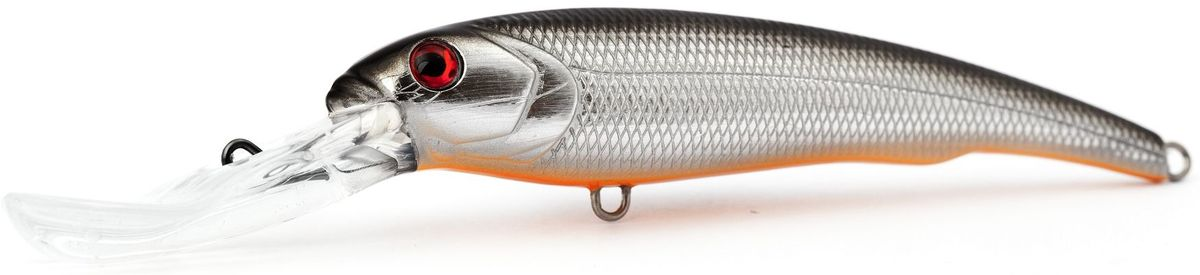 Воблер плавающий Atemi Predator special, цвет: silver shad, длина 15 см, вес 47 г, заглубление 9 м513-00063Плавающий воблер Atemi Predator Special специально создан для ловли хищных рыб в весенне-летний период. Идеально подходит в качестве приманки для щуки и сома, для ловли которых необходимо брать наживку большого размера примерно от 12 см летом. Чем глубже водоем, тем более увесистая наживка вам потребуется. Заглубление и вес приманки делают ее прекрасным выбором для рыбалки на глубоких водоемах. Рекомендуется для ловли - щуки, окуня, форели, басса, язя, голавля, желтоперого судака, жереха.Заглубление: 9 м.