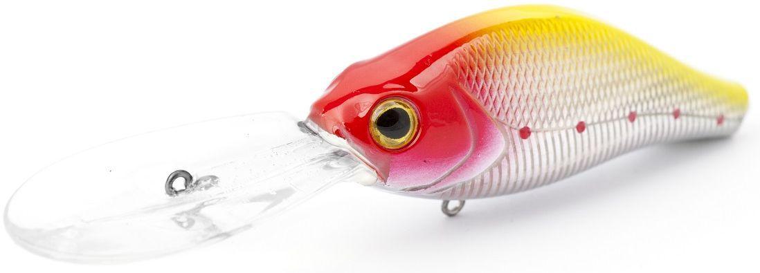 Воблер плавающий Atemi Deep Water Crank, цвет: clownfish, длина 7,5 см, вес 21 г, заглубление 4 м513-00071Воблер Atemi Deep Water Crank предназначен для озер и водохранилищ. Он является наилучшей приманкой как для троллинга, так и для ловли в заброс. Также хорошо работает при ловле рыбы против течения, проводите приманку по более глубоким местам, там, где чаще стоят в засаде более крупные экземпляры. Рекомендуется для ловли щуки, окуня, форели, басса, язя, голавля, желтоперого судака, жереха. Эта приманка превосходна для ловли рыбы, если ее забрасывать вверх по течению, только обеспечивайте скорость проводки немного быстрее, чем скорость течения.Заглубление: 4 м.Какая приманка для спиннинга лучше. Статья OZON Гид