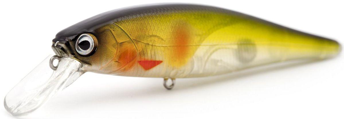 Воблер суспендер Atemi Quesy, цвет: ghost ayu, длина 10 см, вес 16 г, заглубление 1,5 м513-00088Воблер Atemi Quesy подходит для ловли на отмелях. Эта модель приманки имеет нейтральную плавучесть, что позволяет зависать приманке в толще воды. Такой способ рыбалки позволяет привлечь пассивную рыбу, которая плохо реагирует на активную проводку. Воблер имитирует неподвижную рыбку, что заставляет пассивную рыбу выйти на охоту. Рекомендуется для ловли щуки, окуня, форели, басса, язя, голавля, желтоперого судака, жереха.Заглубление: 1,5 м.Какая приманка для спиннинга лучше. Статья OZON Гид