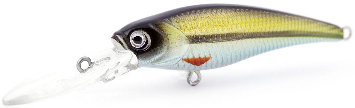 Воблер плавающий Atemi Kingfisher, цвет: roach, длина 6 см, вес 6,5 г, заглубление 2 м