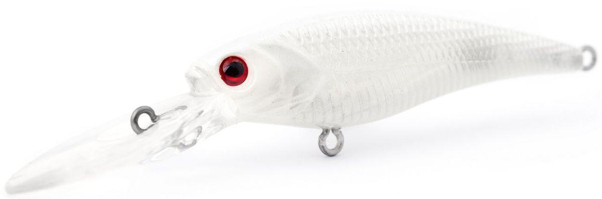 Воблер плавающий Atemi Kingfisher, цвет: sexy whiete, длина 6 см, вес 6,5 г, заглубление 2 м