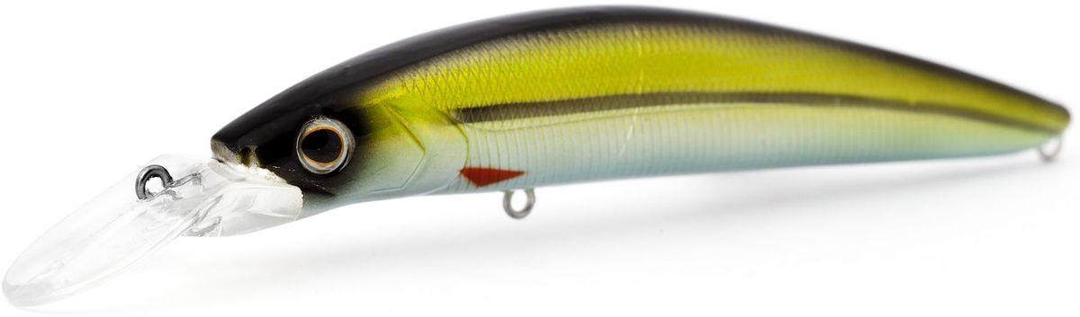 Воблер плавающий Atemi Dinamic, цвет: roach, длина 12,5 см, вес 24 г, заглубление 1,7 м513-00109ПриманкаAtemi Dinamic превосходна для ловли рыбы, если ее забрасывать вверх по течению, только обеспечивайте скорость проводки немного быстрее, чем скорость течения. Она также хорошо работает при ловле рыбы против течения, проводите приманку по более глубоким местам, там, где чаще стоят в засаде более крупные экземпляры. Для озер и водохранилищ, Atemi Dinamic является наилучшей приманкой как для троллинга, так и для ловли в заброс.Заглубление: 1,7 м.Какая приманка для спиннинга лучше. Статья OZON Гид