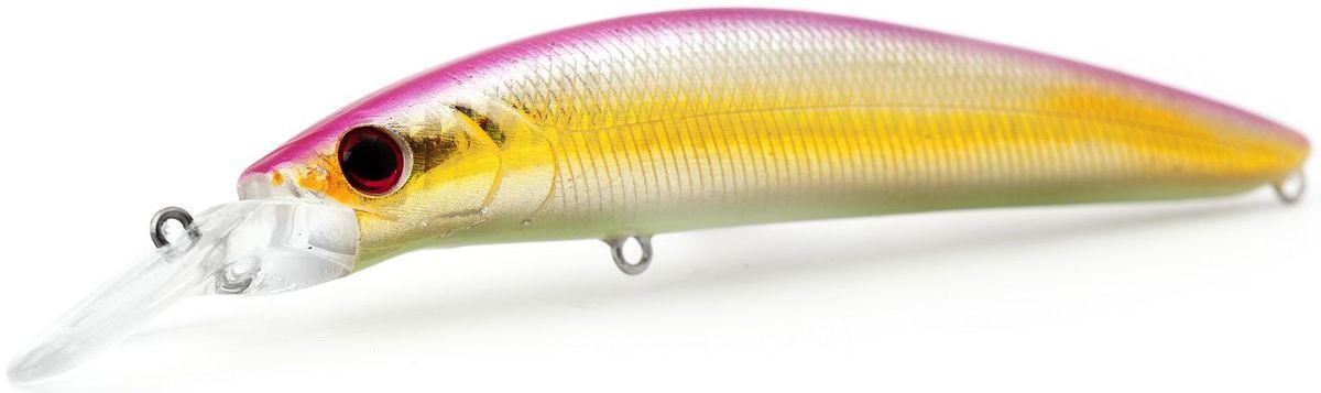 """Воблер плавающий Atemi """"Dinamic"""", цвет: pink shad, длина 12,5 см, вес 24 г, заглубление 1,7 м"""