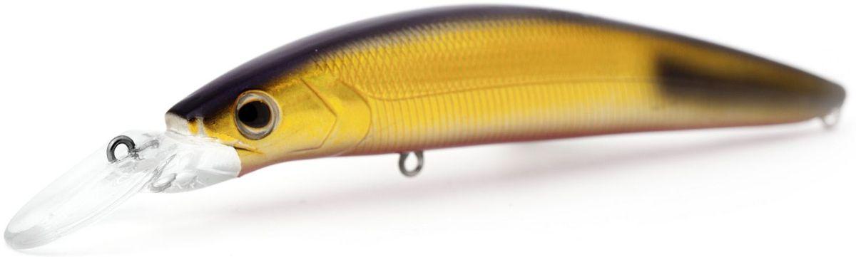 Воблер плавающий Atemi Dinamic, цвет: gold black tip, длина 12,5 см, вес 24 г, заглубление 1,7 м
