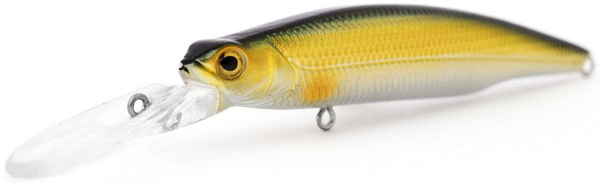 Воблер плавающий Atemi Deep Run, цвет: gold black, длина 9 см, вес 10,6 г, заглубление 2 м513-00115Воблер Atemi Deep Run плавающий рекомендуется для ловлищуки, окуня, форели, басса, язя, голавля, желтоперого судака, жереха. Эта приманка превосходна для ловли рыбы, если ее забрасывать вверх по течению. Только обеспечивайте скорость проводки немного быстрее, чем скорость течения. Заглубление: 2 м.Какая приманка для спиннинга лучше. Статья OZON Гид
