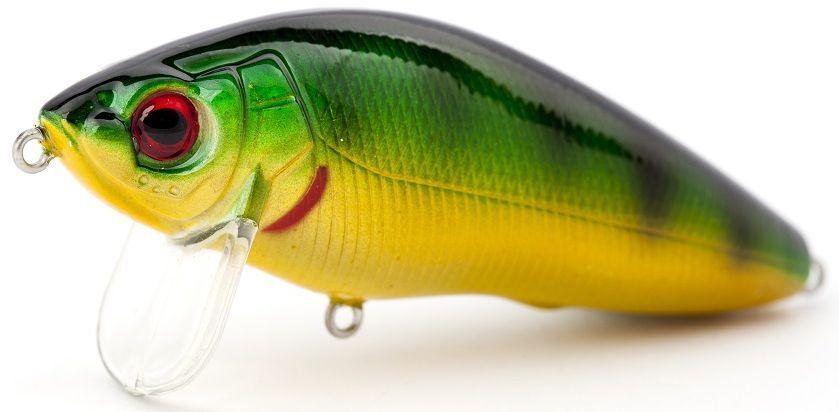 Воблер плавающий Atemi Black Widow Zero, цвет: perch, длина 6 см, вес 8,5 г513-00122Плавающий воблер Atemi Black Widow Zero рекомендуется для ловли щуки, окуня, форели, басса, язя, голавля, желтоперого судака, жереха. Эта легкая приманка может использоваться для ловли рыбы вверх по течению. Также подходит для ловли рыбы против течения. Воблер выполнен из прочного металла и пластика.