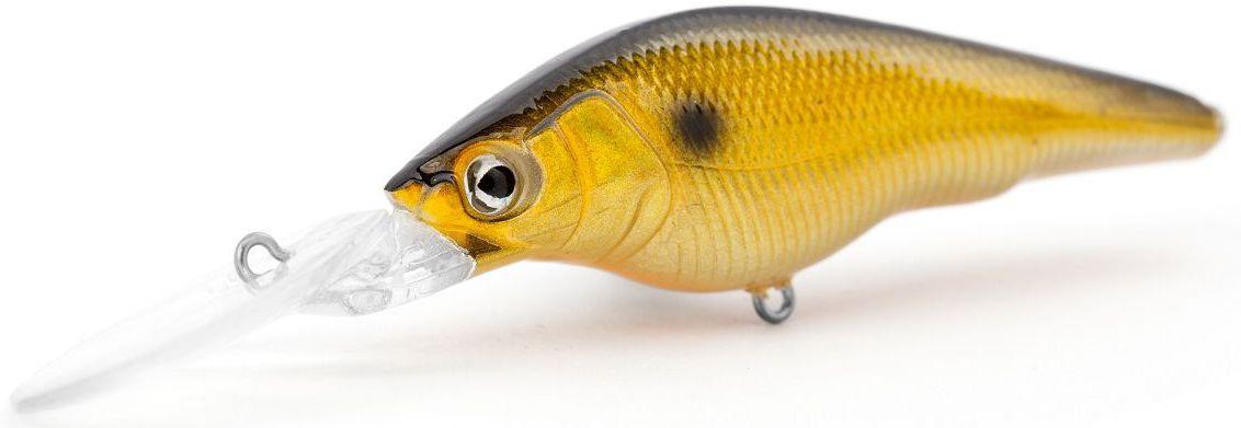 Воблер суспендер Atemi Black Widow Two, цвет: kurokin, длина 6 см, вес 8,5 г, заглубление 2 м513-00128Воблер Atemi Black Widow Two - это яркая и качественная приманка, которая рекомендуется для ловли щуки, форели, басса, голавля, жереха, желтоперого судака, окуня. Эта легкая приманка может использоваться для ловли рыбы вверх по течению, если обеспечить более высокую, нежели скорость течения, скорость проводки. Воблер также может использоваться и при ловли против течения.Заглубление: 2 м.