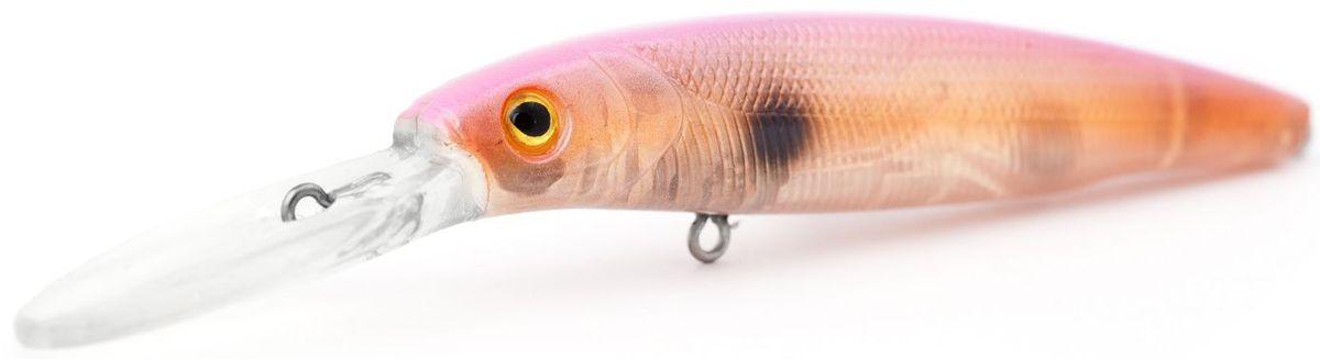 Воблер суспендер Atemi Jedai, цвет: pink ayu, длина 8,8 см, вес 11 г, заглубление 2,5 м513-00147Воблер суспендер Atemi Jedai применяется для ловли в озерах и водохранилищах. Он является наилучшей приманкой как для троллинга, так и для ловли в заброс. Эта приманка превосходна для ловли рыбы, если ее забрасывать вверх по течению, только обеспечивайте скорость проводки немного быстрее, чем скорость течения. Воблер рекомендуется для ловли щуки, окуня, форели, басса, язя, голавля, желтоперого судака, жереха. Он также хорошо работает при ловле рыбы против течения, проводите приманку по более глубоким местам, там, где чаще стоят в засаде более крупные экземпляры.Заглубление: 2,5 м.