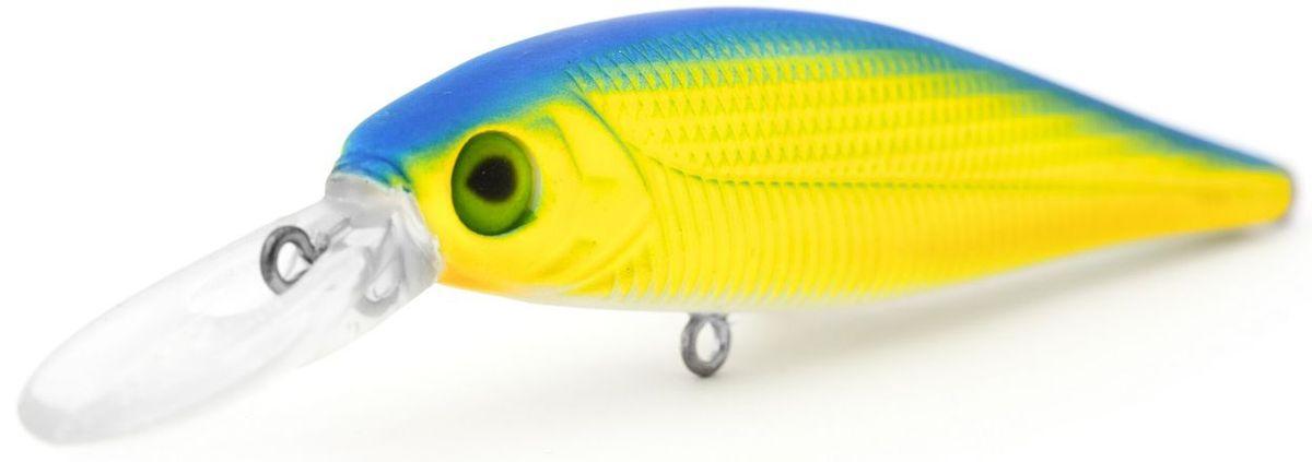 Воблер плавающий Atemi Combat, цвет: chart blue, длина 7,8 см, вес 10 г, заглубление 1,2 м воблер плавающий atemi crazy pop цвет silver chart длина 11 5 см вес 29 г