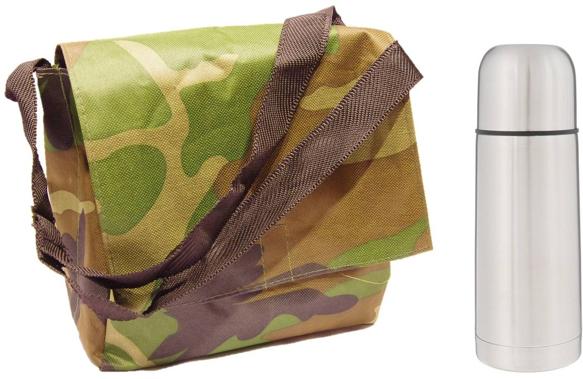 Набор  Arctix , цвет: зеленый, коричневый, 2 предмета. ТТС-07035 - Туристическая посуда