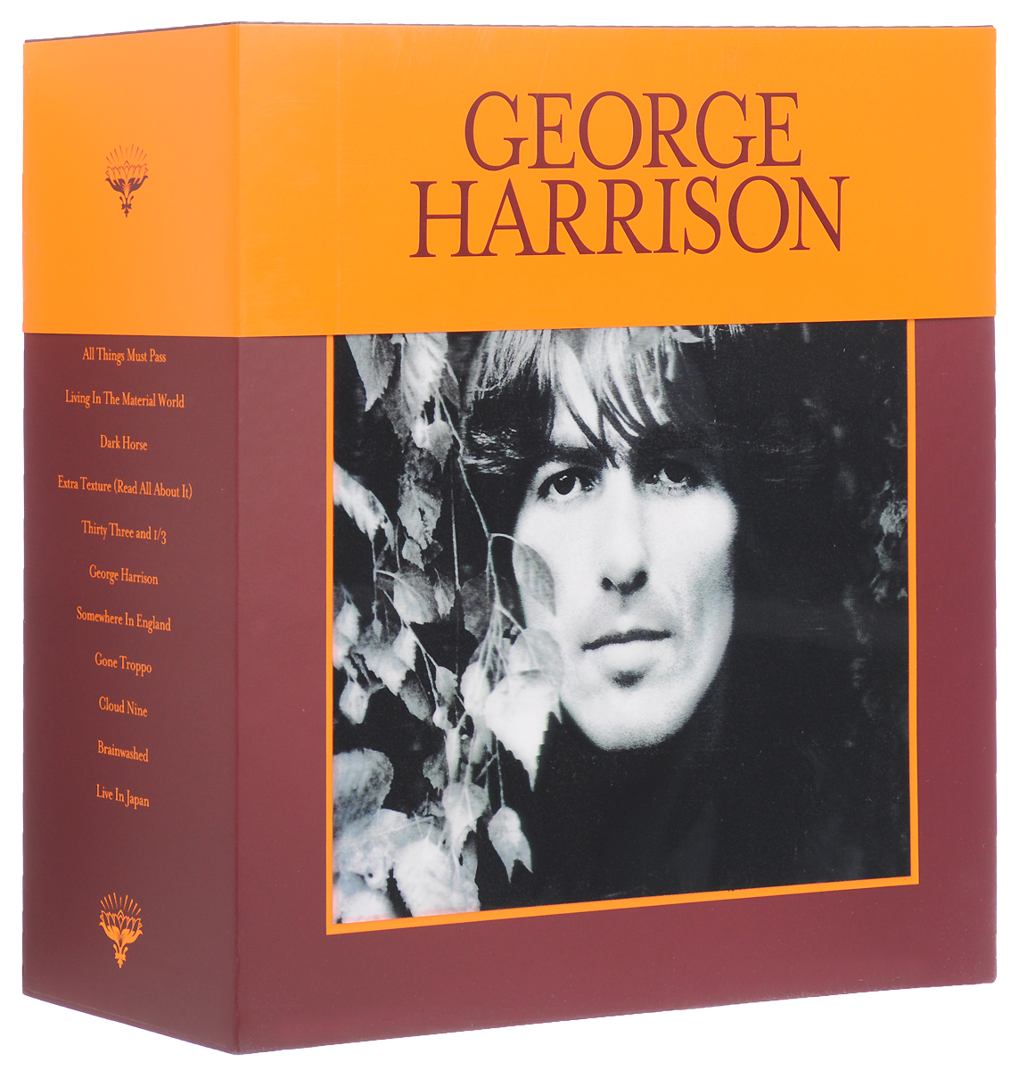 Джордж Харрисон George Harrison. The Vinyl Collection (18 LP) 1pc 1 2 7 8 woodworking cutter cnc engraving tools cutting the wood router bits 1 2 shk
