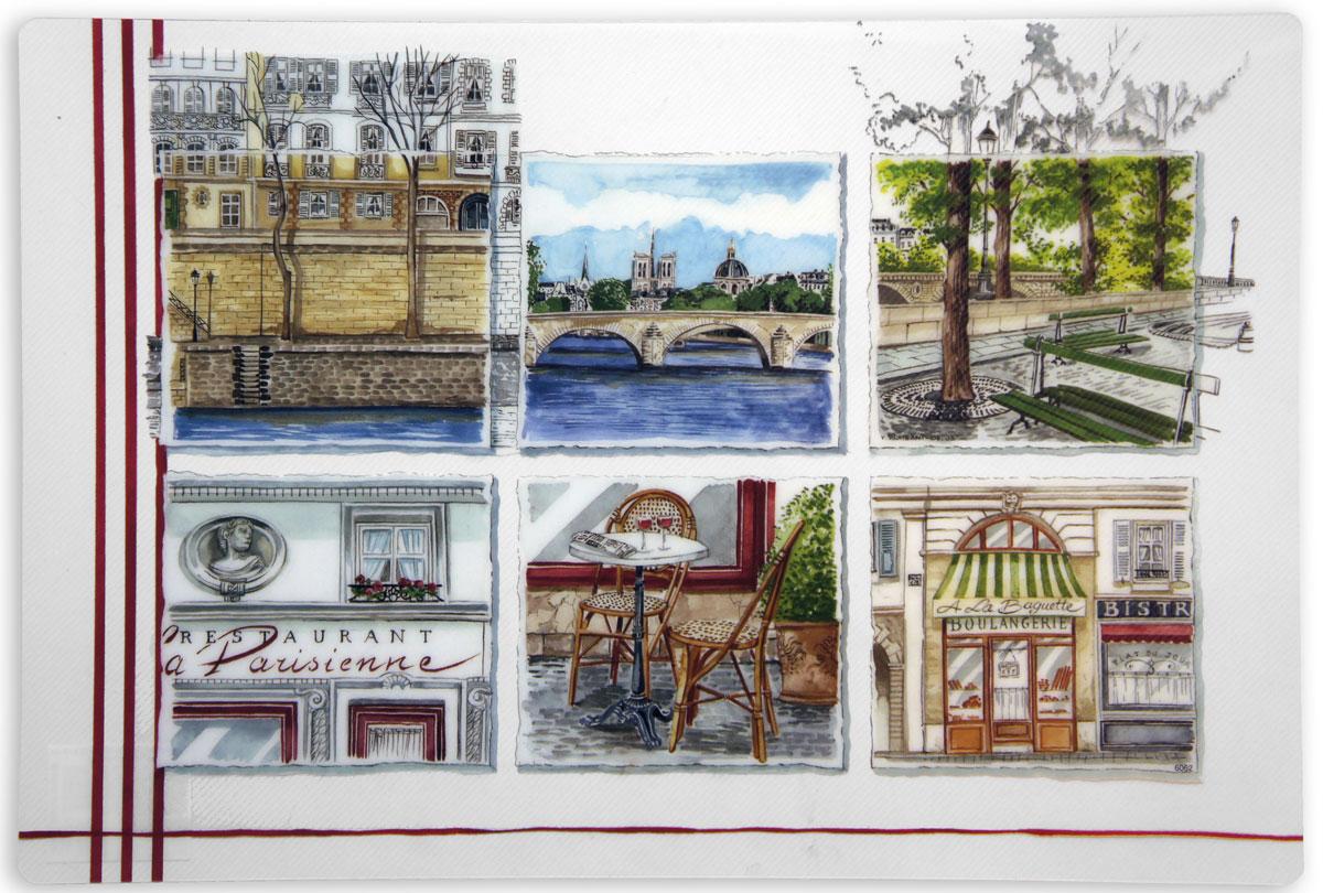 Набор салфеток GiftnHome Французские зарисовки, 29 х 43 см, 4 шт3D - Французские зарисовкиСервировочные салфетки используются для сервировки стола и для интерьерных решений, они защищают поверхности от следов пищи, влаги и горячей посуды - это предметы создающие настроение. Авторские дизайны от Креативной студии AntonioK - сделают Вашу сервировку яркой и стильной!