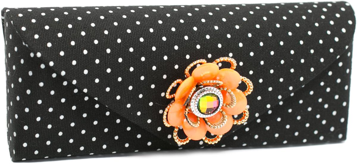 Футляр для очков женский Mitya Veselkov, цвет: оранжевый. JL192col.5or цепочки для очков germes цепочка металлическая для очков g 8