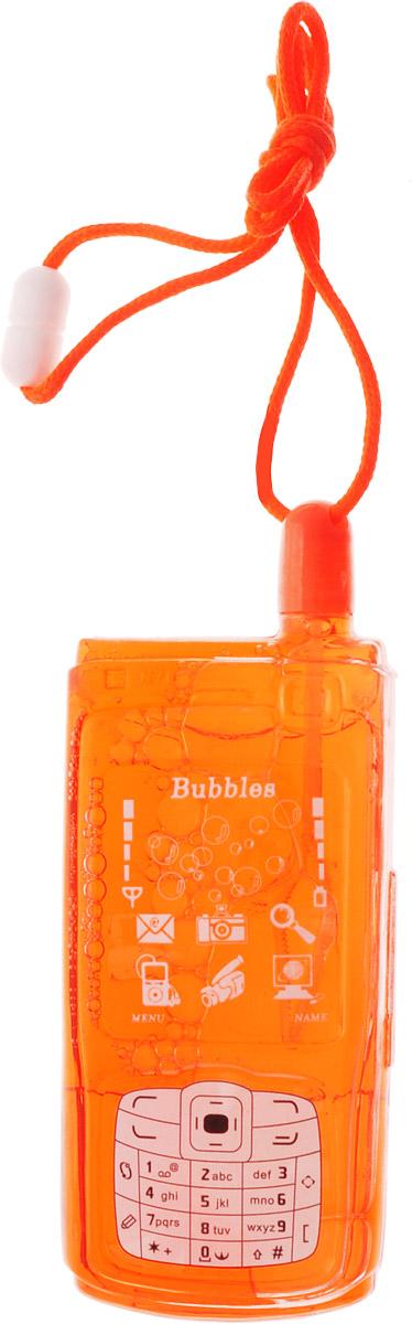 Uncle Bubble Мыльные пузыри Мобильник цвет красный paddle bubble 278213 мыльные пузыри 60 мл с набором ракеток
