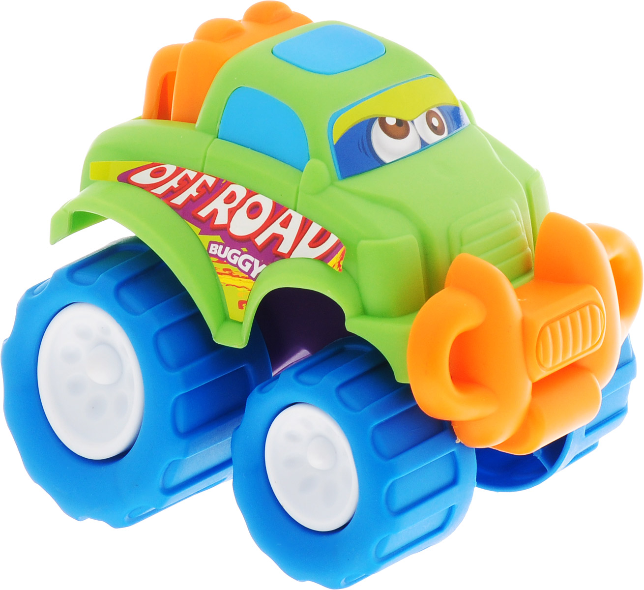Keenway Машинка-игрушка Mini Monster Wheel цвет светло-зеленый