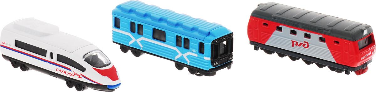 ТехноПарк Набор машинок Транспорт машинки технопарк вагон метро технопарк металл свет звук открыв двери