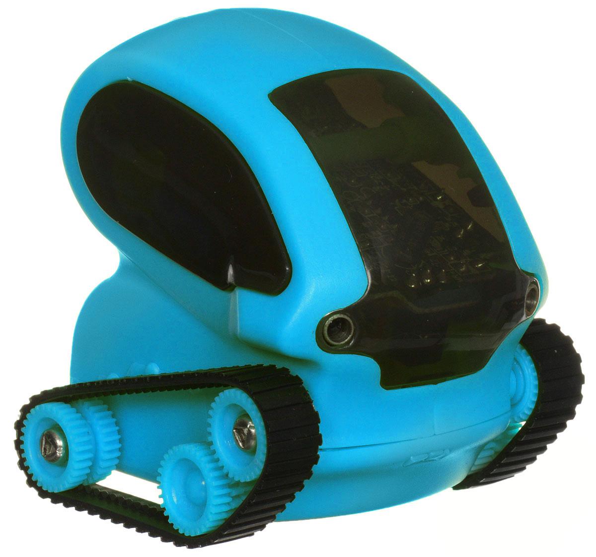 DeskPets Микро-робот на радиоуправлении Танкбот цвет синий