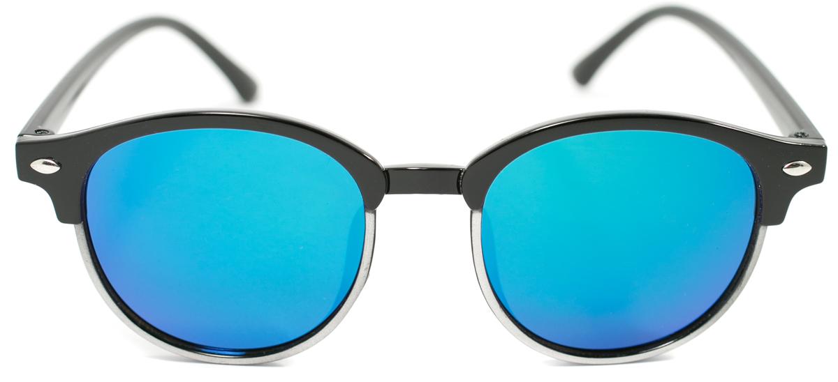Очки солнцезащитные детские Mitya Veselkov, цвет: черный. OS-192INT-06501Прекрасные антибликовые очки Mitya Veselkov, станут прекрасным и стильным аксессуаром для вашего ребенка и защитят его от УФ лучей. Они помогут глазу более четко распознать картинку, засвеченную солнечными лучами, при этом скорректируют все возникшие искажения.