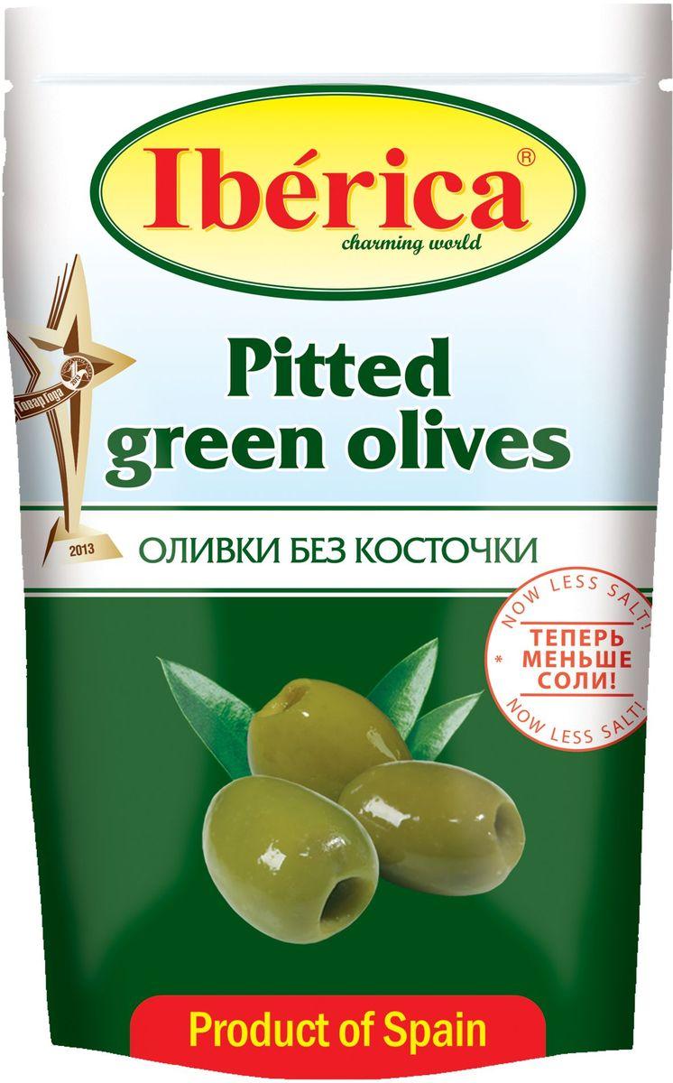 Iberica Оливки без косточки, 170 г оливки без косточки принцесса вкуса 300 мл