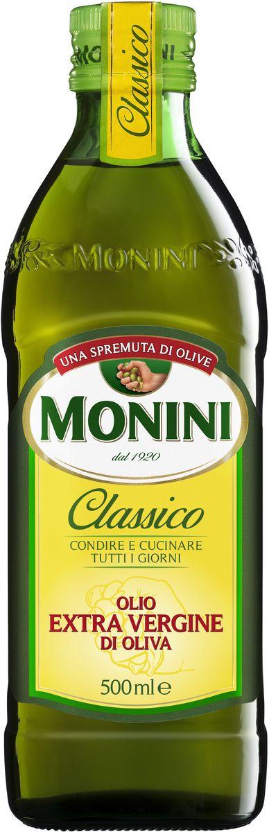 Monini масло оливковое Extra Virgin, 500 мл1610006/1Monini Extra Virgin - оливковое масло первого холодного отжима. Монини – одна из немногих занимающихся оливковым маслом компаний, которая до сих пор осталась семейной. Даже сегодня, владелец Дзеферино Монини, лично дегустирует и отбирает масла перед тем, как его разольют в бутылки. Масло изготавливается из оливок, выращиваемых на полях, не обрабатываемых пестицидами и другими химическими удобрениями. Оливки собираются вручную и подвергаются первой выжимке методом холодного прессования.