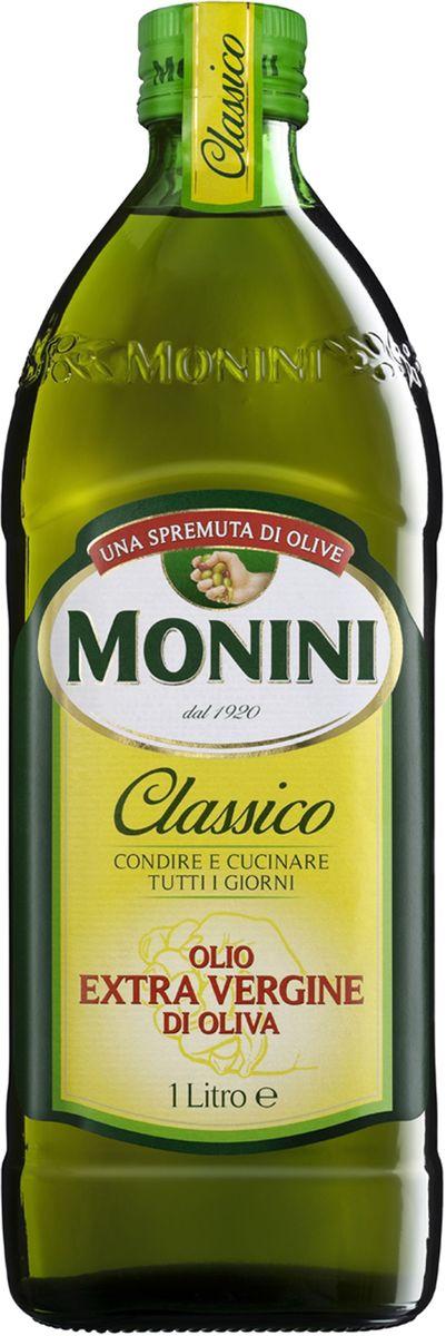 Monini масло оливковое Extra Virgin, 1 л цена