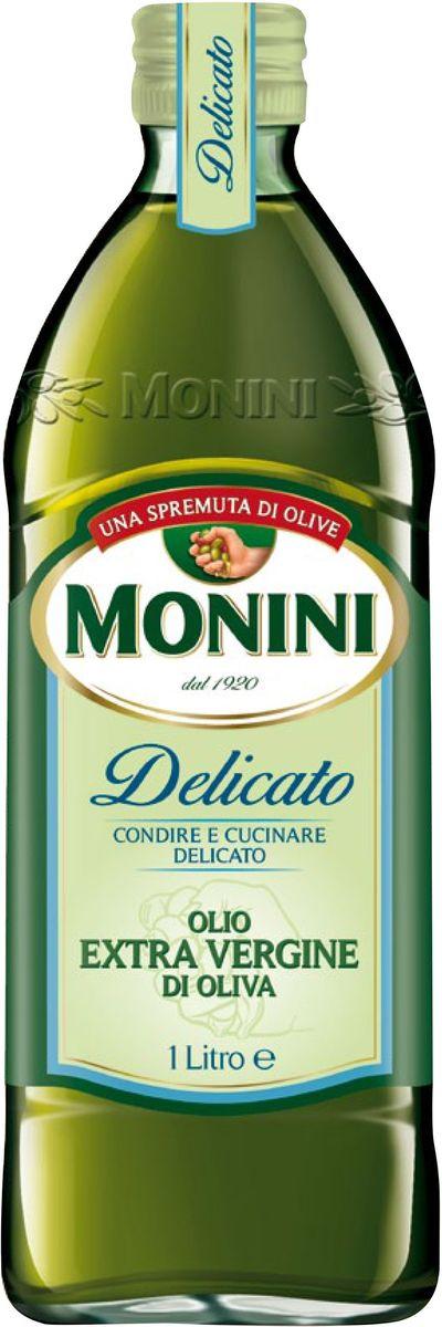 Monini Delicato масло оливковое Extra Virgin, 1 л1610007/5Delicato - оливковое масло нерафинированное экстра класса обладает легким, приятным вкусом и запахом, благодаря чему обогащает приготовляемые блюда не подавляя их естественный аромат. Идеально для салатов, маринадов, салатных заправок и всех блюд Итальянской кухни.