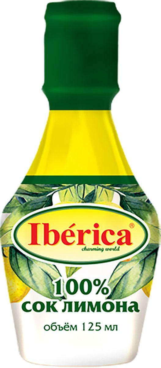 Iberica 100% Сок лимона прямого отжима, 125 мл1650090100% натуральный лимонный сок от торговой марки Iberica получен методом прямого отжима. Он станет отличным дополнением к различным овощным салатам, жареной рыбе, холодным закускам. Его можно применять для приготовления варенья, соусов, кремов, сиропов и напитков. Он обладает насыщенным вкусом и ароматом, отлично подчеркивает достоинства продуктов. Продукт поставляется в удобной небольшой бутылочке с горлышком, которая удобна для точного дозирования. С соком лимона Iberica вы откроете для себя новый вкус уже привычных блюд.