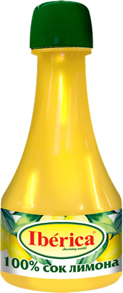 Iberica 100% Сок лимона прямого отжима, 250 мл1650092100% натуральный лимонный сок от торговой марки Iberica получен методом прямого отжима. Он станет отличным дополнением к различным овощным салатам, жареной рыбе, холодным закускам. Его можно применять для приготовления варенья, соусов, кремов, сиропов и напитков.Он обладает насыщенным вкусом и ароматом, отлично подчеркивает достоинства продуктов. Продукт поставляется в удобной небольшой бутылочке с горлышком, которая удобна для точного дозирования. С соком лимона Iberica вы откроете для себя новый вкус уже привычных блюд.