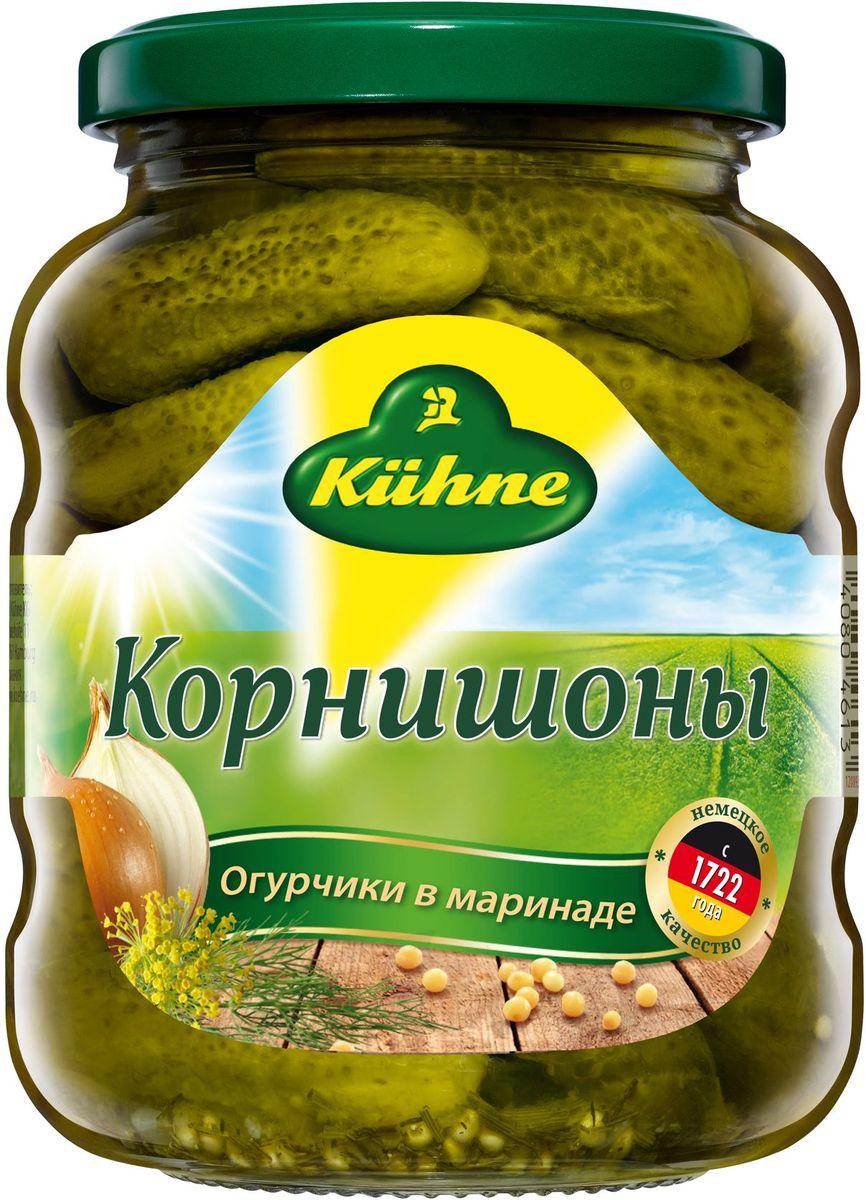 Kuhne Корнишоны, 330 г корнишоны сладкие kuhne 530г