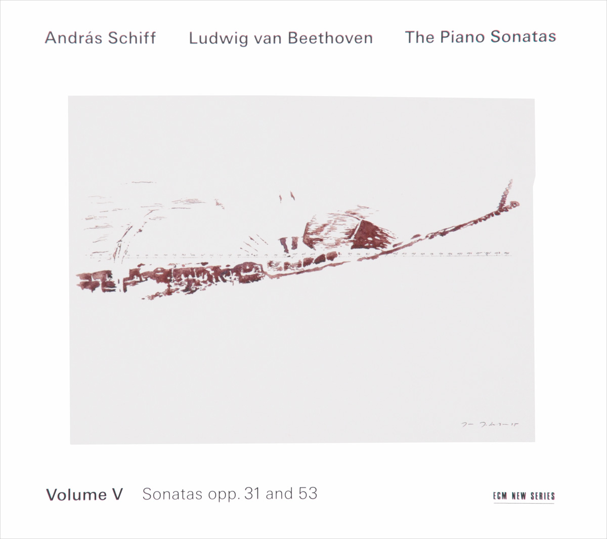 Andras Schiff. Ludwig Van Beethoven. The Piano Sonatas. Vol. 5 (2 CD)
