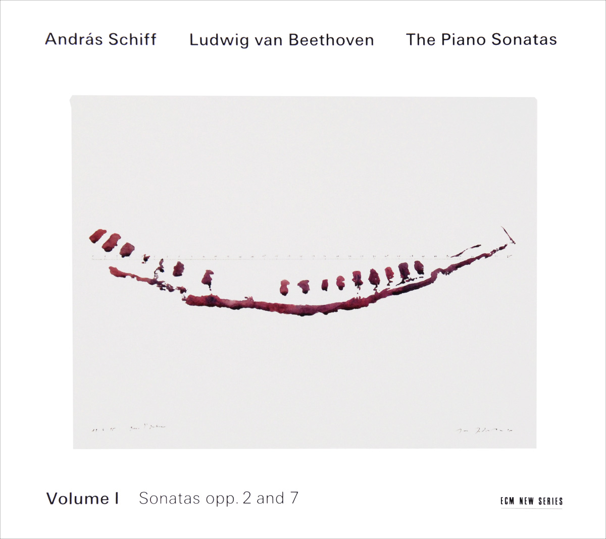 Андрас Шифф Andras Schiff. Beethoven. The Piano Sonatas. Volume I (2 CD) piano sonatas cd