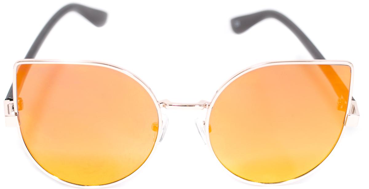 Очки солнцезащитные женские Mitya Veselkov, цвет: желтый. OS-221INT-06501Прекрасные антибликовые очки Mitya Veselkov, станут прекрасным и стильным аксессуаром для вас и защитят от УФ лучей. Они помогут глазу более четко распознать картинку, засвеченную солнечными лучами, при этом скорректируют все возникшие искажения.