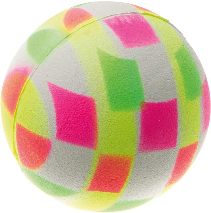 Мяч V.I.Pet Неон, цвет: клетка мультиколор, диаметр 47 мм. 20-110420-1104Мяч V.I.Pet Неон предназначен для игр, тренировок и активного отдыха с животными. Мяч заинтересует и увлечет вашего питомца. Сделана из абсолютно безопасного и качественного материала. Материал: вспененная резина.