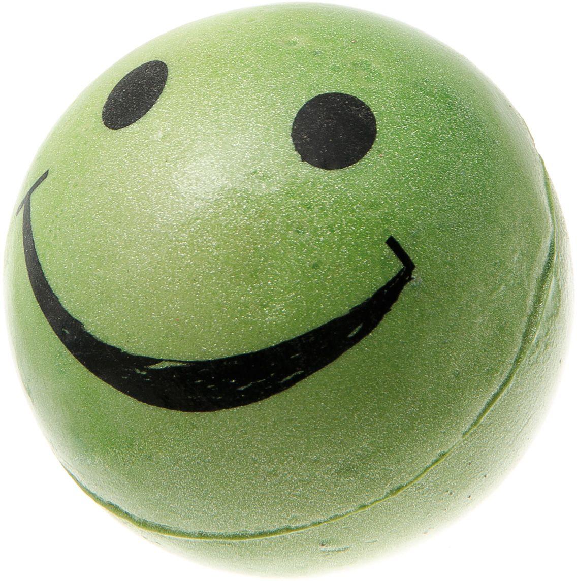 Мяч V.I.Pet Смайлик, цвет: зеленый, диаметр 63 мм. 20-111420-1114Предназначен для игр, тренировок и активного отдыха с животными. Мяч заинтересует и увлечёт вашего питомца. Сделана из абсолютно безопасного и качественного материала. Материал: вспененная резина.