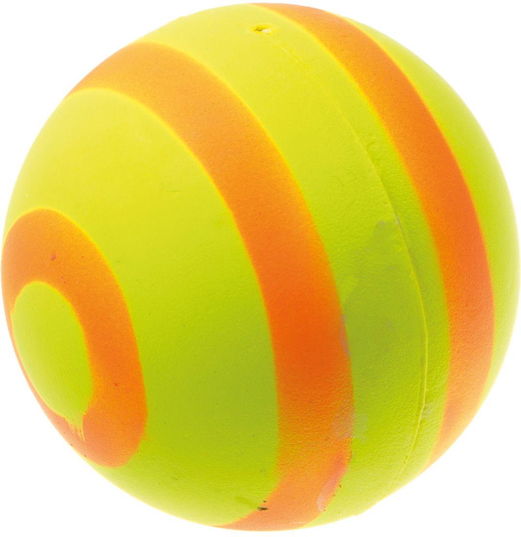 Мяч V.I.Pet Неон, цвет: желтый, оранжевый, диаметр 63 мм. 20-112120-1121Мяч V.I.Pet Неон предназначен для игр, тренировок и активного отдыха с животными. Мяч заинтересует и увлечет вашего питомца. Сделана из абсолютно безопасного и качественного материала. Материал: вспененная резина.